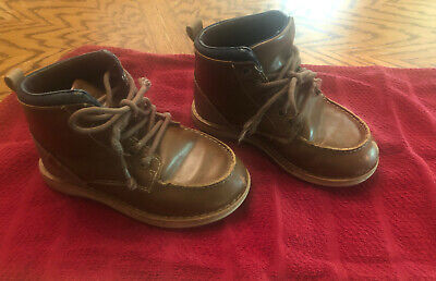 Little Boys Boots Size 11 Brown, Austin Trading Co. Shoes