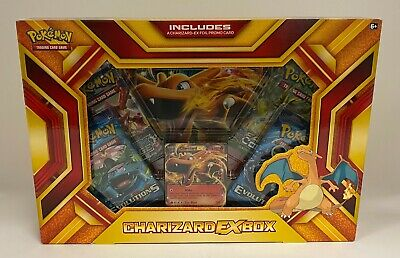 POKEMON TCG Unopened Sealed Charizard EX Booster Pack Box