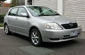 2003 Toyota Corolla Hatchback Richmond Yarra Area Preview