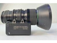 Cosmicar//Pentax 15-18OMM 1:1.9 B12ZCME-2F TV Zoom Lens