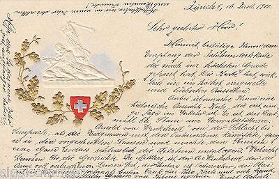 Winkelried Präge-AK 1900 Schweiz Suisse Svizzera 1610574