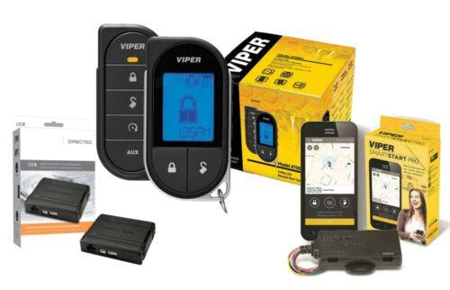 Viper 4706V 2 Way LCD Remote Start System + DB3 Bypass + VSM550 SmartStart