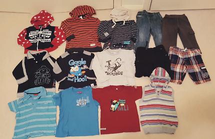 Bulk lot boys clothing size 2