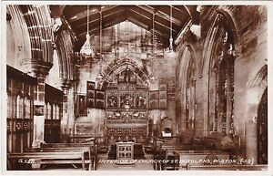Interior Of Church Of St. Botolphs, BOSTON, Lincolnshire RP