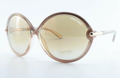 Tom Ford Sunglasses Rita TF225 1.8oz 63 14 130 Lady Italy Round c2011 + D&g Case