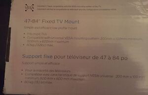 """47-84"""" inch tv wall Mount. New"""
