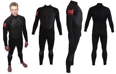Full winter steamer 5/3 surf wetsuit by NCW. GBS hot melt taped seams SIZE MST