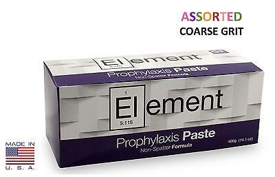 Element Prophy Paste Cups Assorted Coarse 200box Dental Non-splatter Flouride