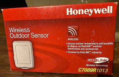 Honeywell Redlink Wireless Outdoor Sensor C7089r1013 Thermostat C7089r