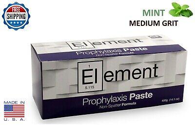 Element Prophy Paste Cups Mint Medium 200box Dental Non Splatter Wflouride