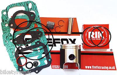 Aprilia AF1 RS125 RS 125 Top End Rebuild Kit Inc Piston & Gaskets ROTAX 122/123