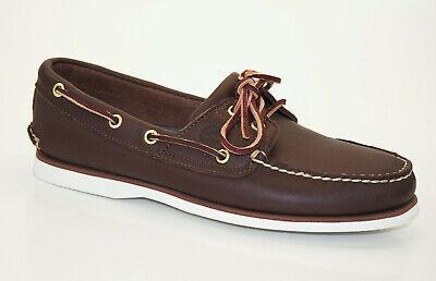 Classic 2 Eye Boat Shoe (Timberland Classic Boat Shoes 2-Eye Segelschuhe Deckschuhe Herren Schuhe 74035 W)