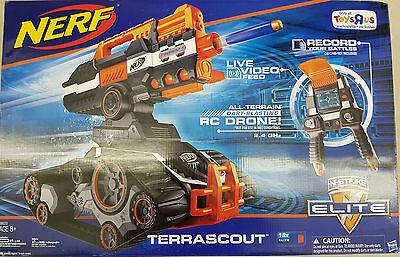 NERF N-Strike Elite Terrascout Remote Control Drone Blaster |BRAND NEW SEALED