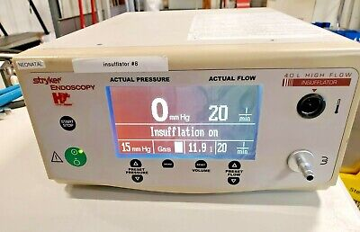 Stryker 40 Liter Insufflator 620-040-000 Tested Excellent Condition