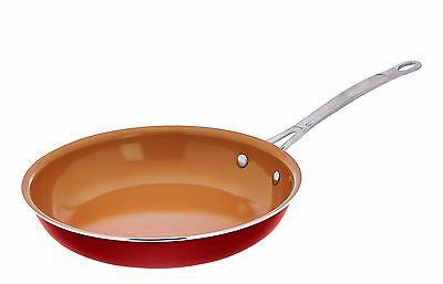 "Gotham Steel Titanium & Ceramic 10"" Copper Nonstick Fry Pan New - Free Shipping!"