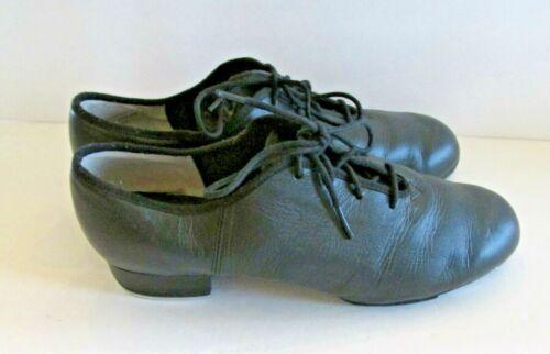 Sansha TA01 T Split Black Tap Shoes Size 14 M Claquettes Lace Up  Size10 Tap Art