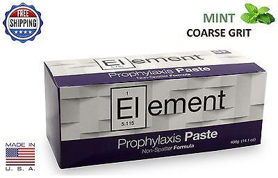 Element Prophy Paste Cups Mint Coarse 200box Dental Non Splatter Wfluoride