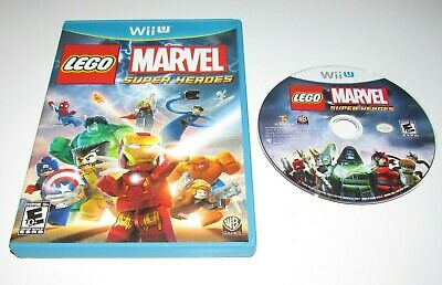 LEGO Marvel Super Heroes for Nintendo Wii U Fast Shipping!