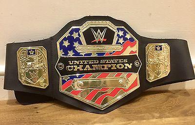 2014 WWE CENA UNITED STATES WWF US CHAMPIONSHIP WRESTLING BELT Jericho Owens dx