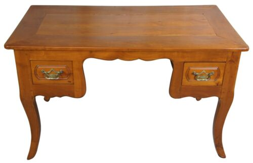 """Antique 18th Century Fruitwood Country French Library or Writing Desk 49"""""""