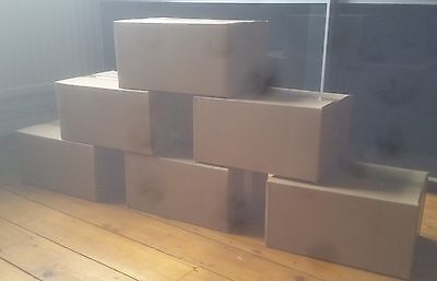 TWENTY (20) - 12x9x6 cardboard box  / single wall box / 12 x 9 x 6 cardboard box