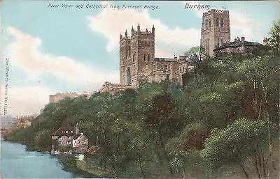 River Wear & Cathedral From Prebends Bridge, DURHAM, County Durham