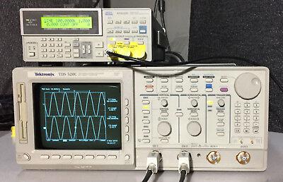 Tektronix Tds520c 2 Channel Oscilloscope 500mhz 1gsas 1f 2m 2f 2c