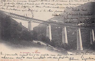 AK Saint Ursanne 1905 Viadukt Viaduc Eisenbahn Brücke