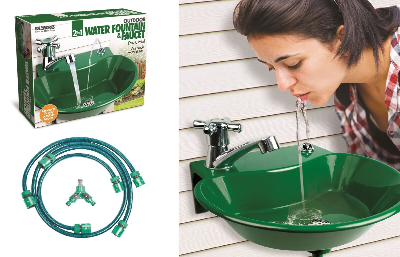 Water Faucet Drinking Fountain Hand Washing Garden Tap Hose ...