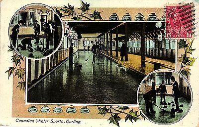 Kandada, Canada, Wintersport, Curling, 1920