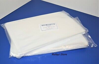 200 CLEAR 9 x 12 LAY FLAT OPEN TOP POLY BAGS PLASTIC PACKING ULINE BEST 1 MIL