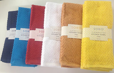 Set of 3 Soho 100% Cotton Terry ...