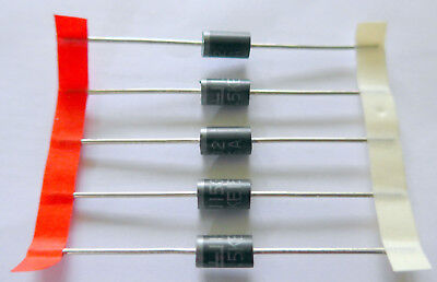 5 x Littelfuse 1.5KE15A Suppressor Diodes. Protect your valuable DC powered Gear