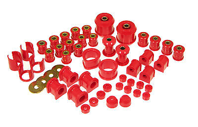 PROTHANE TOTAL SUSPENSION BUSHING INSERTS For NISSAN 240SX 89-94 S13 RED KIT