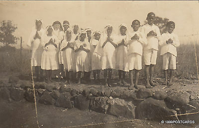 * CAMEROON - Photopostcard - First Communions in Bamenda](First Communions)