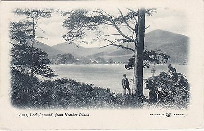 View Across Loch Lomond From Heather Island, LUSS, Dunbartonshire