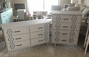 Refurbished bedroom set