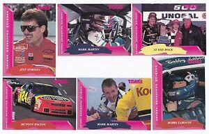 1993 Traks Complete 150 card BASE set BV$12! (Jeff Gordon Rookie!)