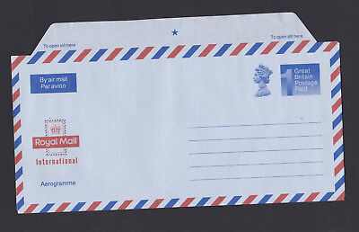 GREAT BRITAIN Royal Mail 1990 POSTAGE PAID AEROGRAMME in Unused Mint Condition