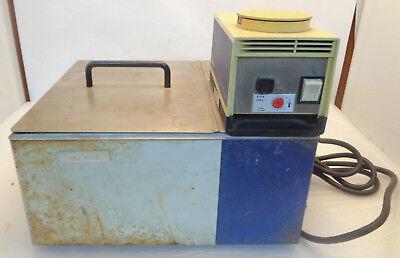 Circulating Hot Water Bath W Techne Te-8a Controller Heater