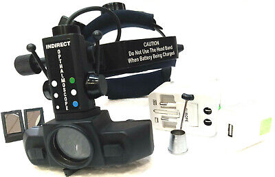 Wirless Rechargeable Led Indirect Ophthalmoscope With Accessories