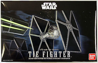 Bandai Star Wars Tie Fighter 1/72 scale kit 948700