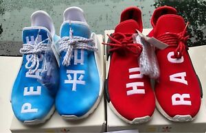 Human Race Red (10.5)& China Pack Blue (8.5) DSWT