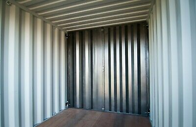 Cargo Container Secure Steel Bolt In Wall Divider - No Welding - Free Shipping