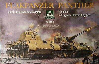 "TAK2105 Takom Model Flakpanzer ""Coelian"" oder 20mmFlakvierling 2in1 Bausatz 1:35"