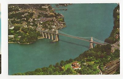 The Menai Suspension Bridge Old Postcard, A469