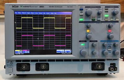 Lecroy Waverunner 6051 500mhz Digital Oscilloscope