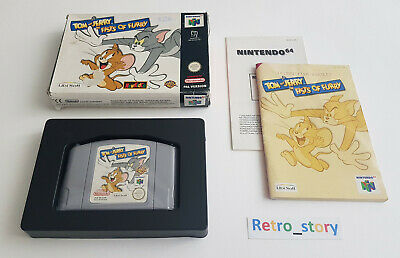 Nintendo 64 N64 - Tom And Jerry In Fists Of Furry - PAL - EUR