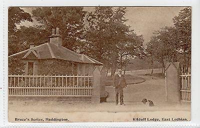 KILDUFF LODGE: East Lothian postcard (C12963)