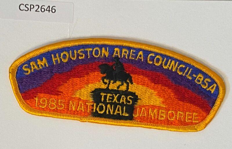 Boy Scout Sam Houston Area Council 1985 National Jamboree JSP